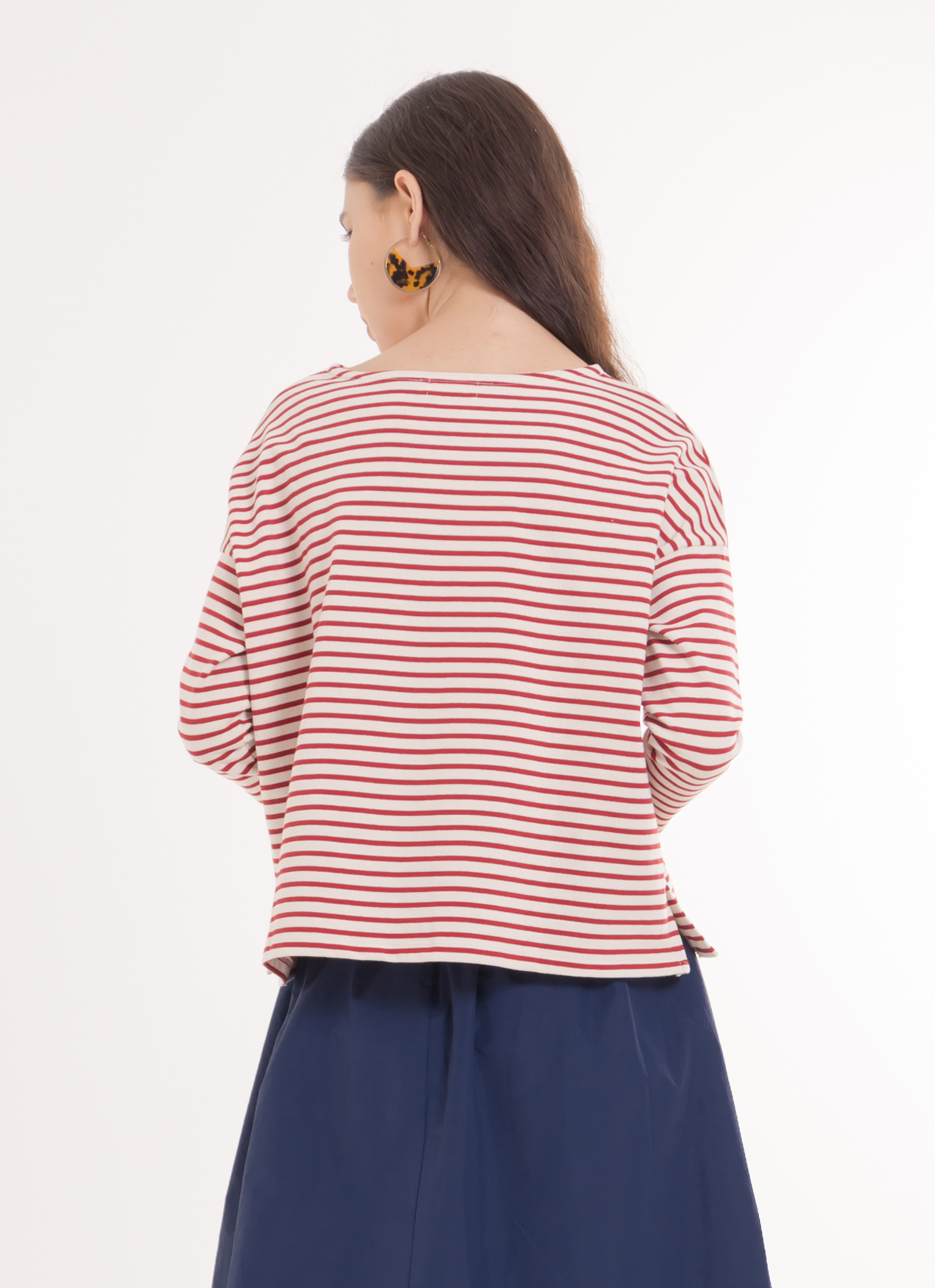Earth, Music & Ecology Ami Top - Red