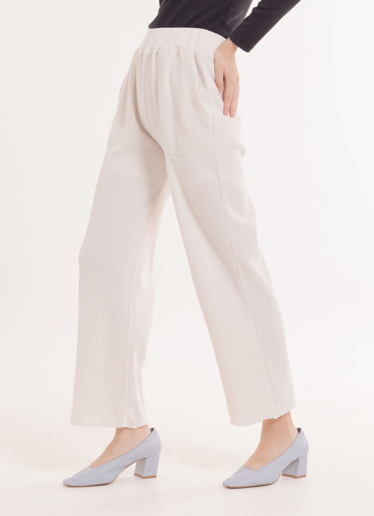 E-hyphen World Gallery Sara Pants - Off White