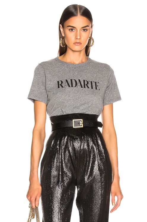 Rodarte Cropped Radarte T Shirt