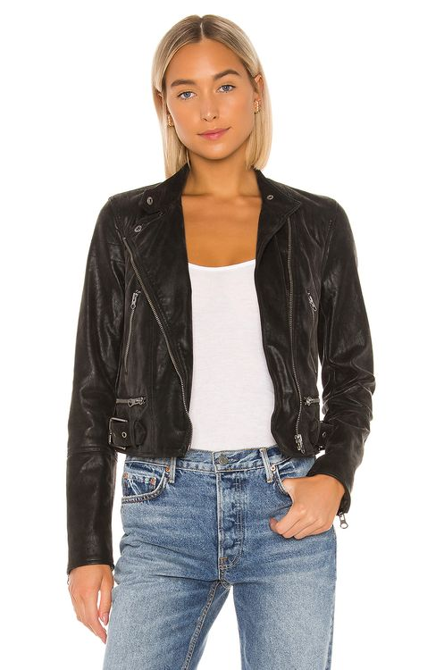 Free People Felix Vegan Moto Jacket