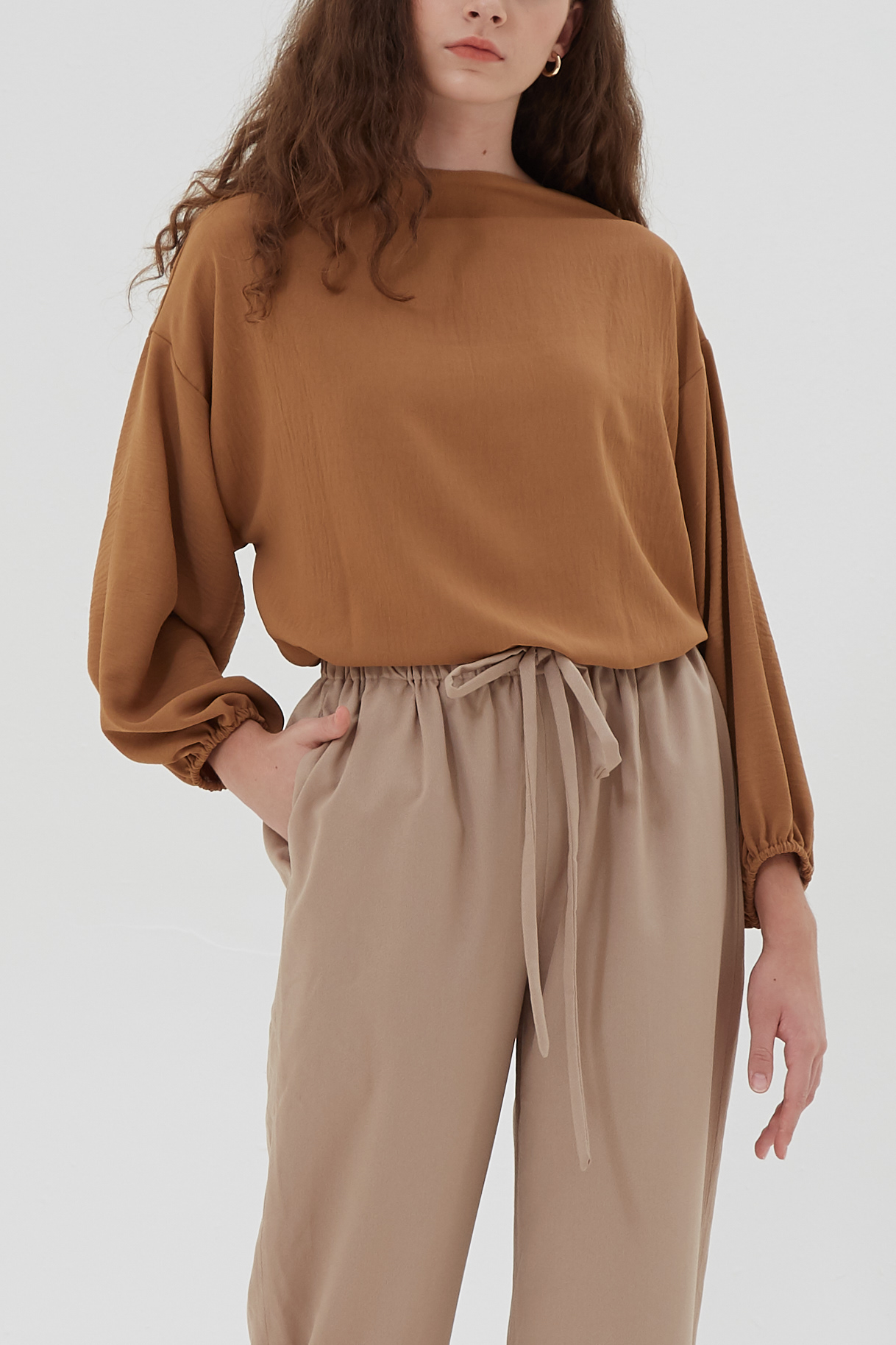 Shopatvelvet Ava Top Brown