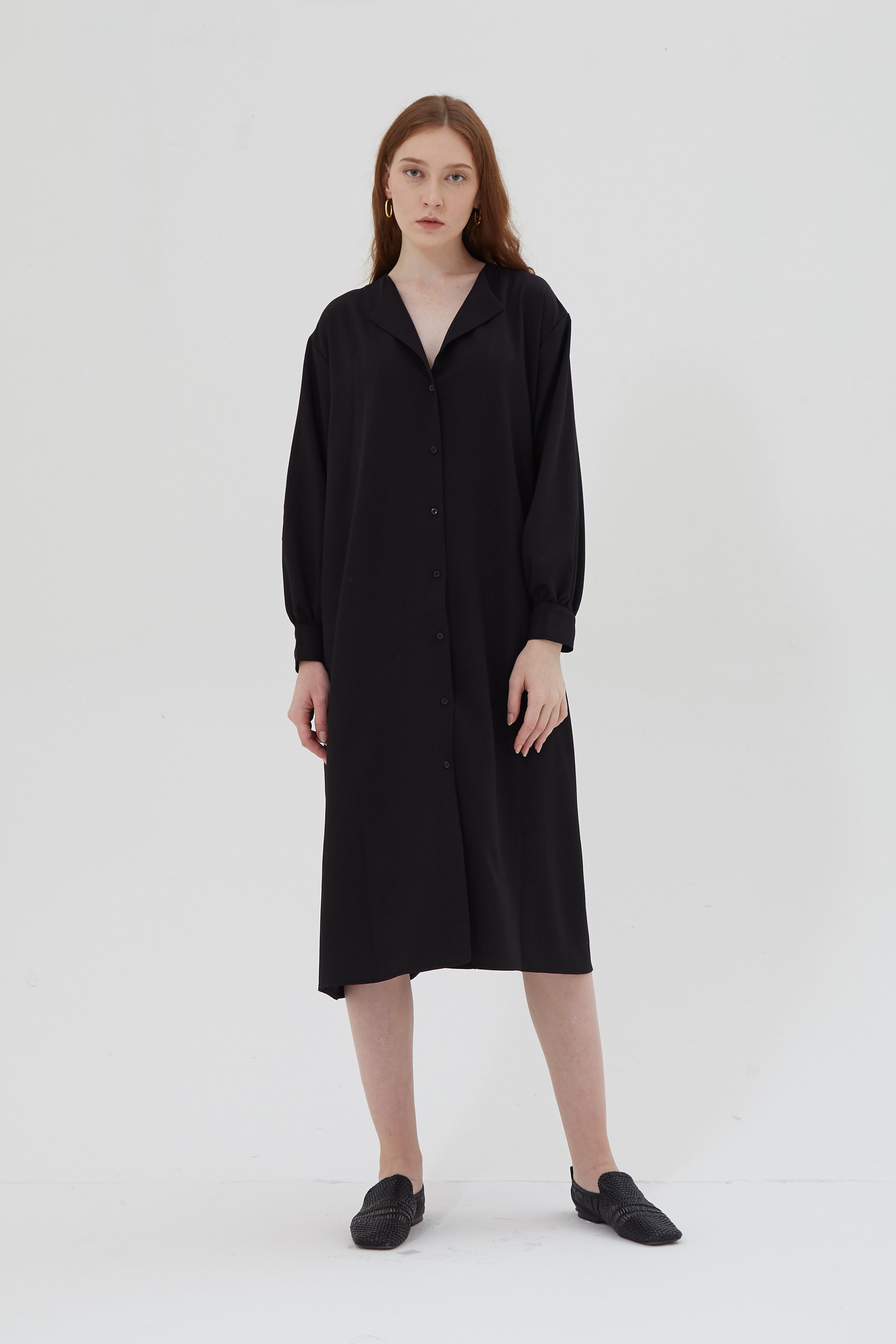 Shopatvelvet Vince two way dress black