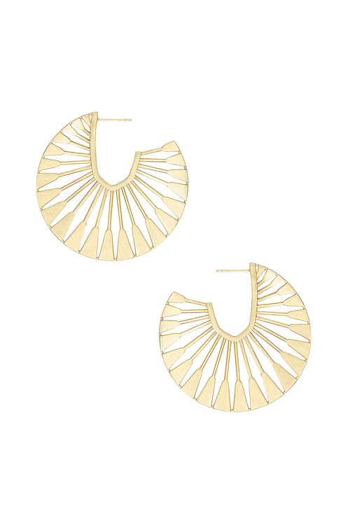 Kendra Scott Deanne Hoop Earrings
