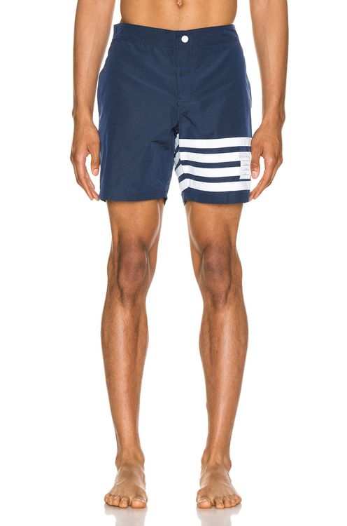 Thom Browne Snap Front Swim Short