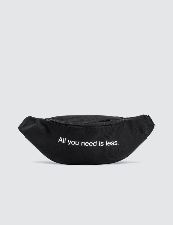 """F.A.M.T. """"All You Need Is Less"""" Bum Bag"""
