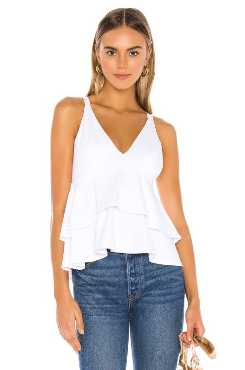 Susana Monaco Triangle Double Layer Top