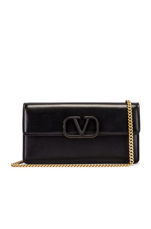 Valentino VSling Wallet on Chain Bag