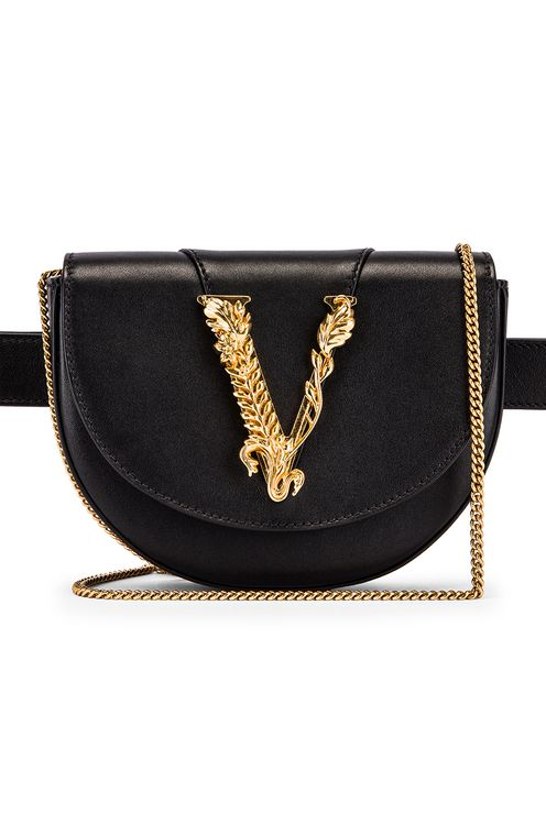 Versace Leather Tribute Belt Bag
