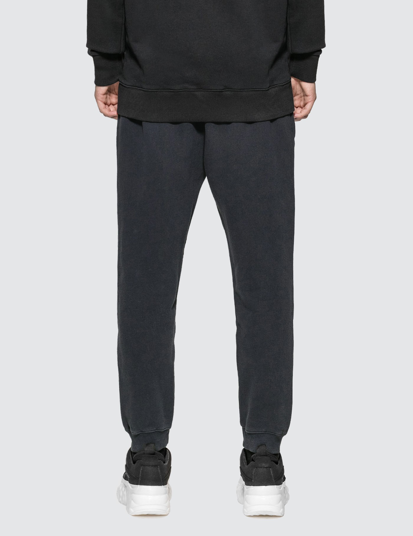 MAISON KITSUNE Triangle Fox Patch Sweatpants