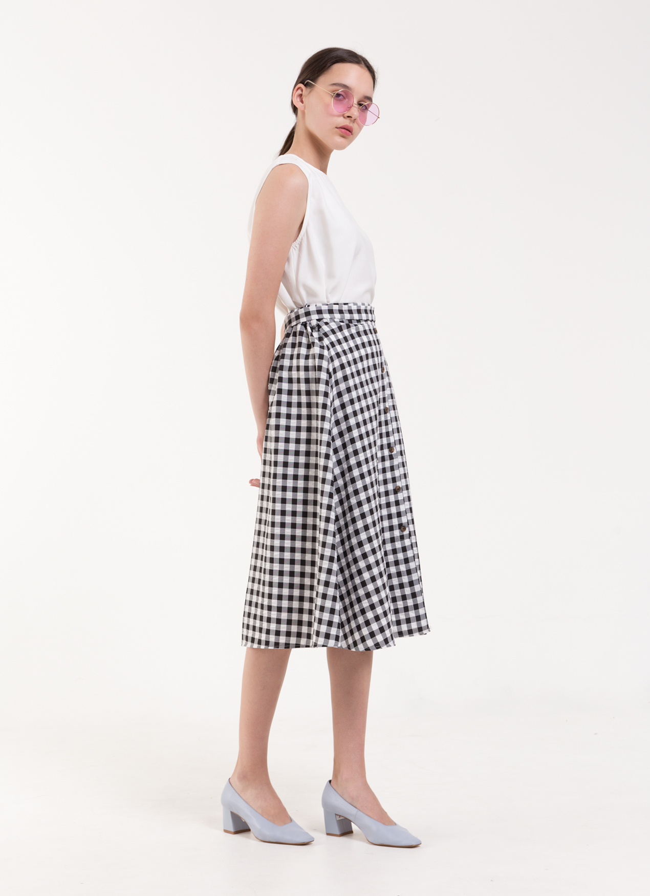 BOWN Andrea Skirt - Black