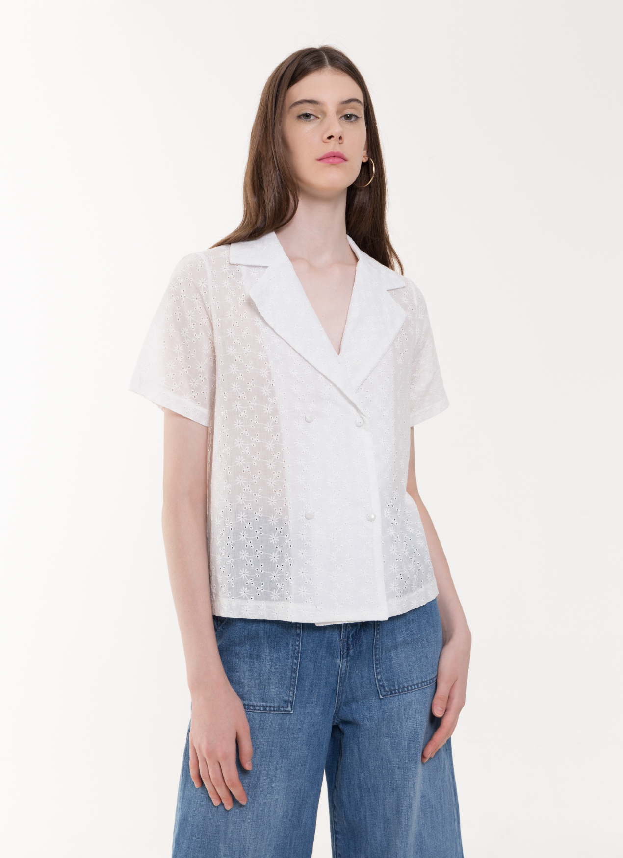 BOWN Sisi Top - White