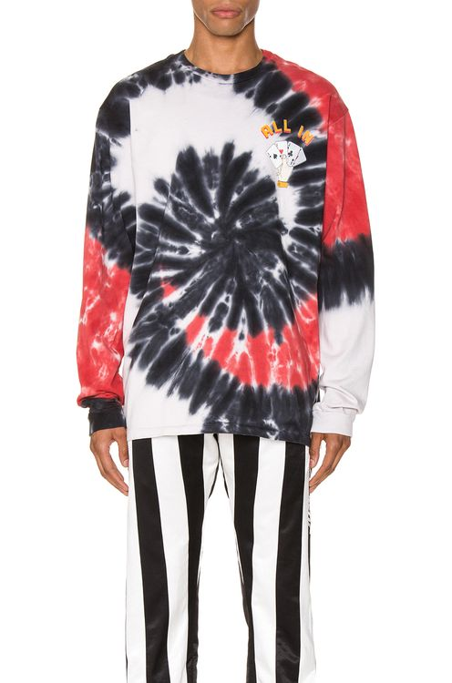 Just Don Dealers Spiral Dye Long Sleeve Tee