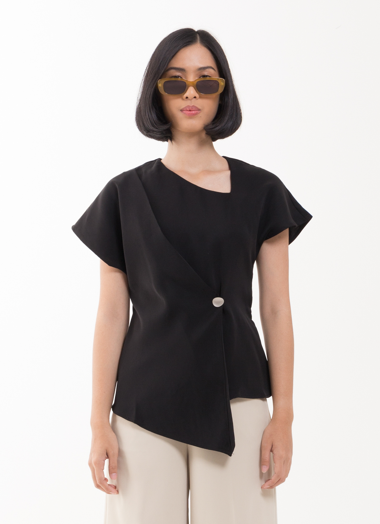 BOWN Andrea Top - Black