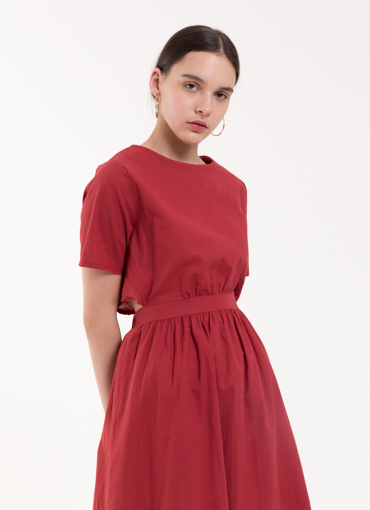 BOWN Lexi Dress - Red