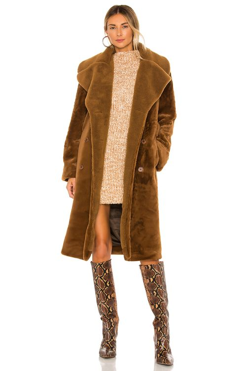 Stine Goya Happy Faux Fur Jacket
