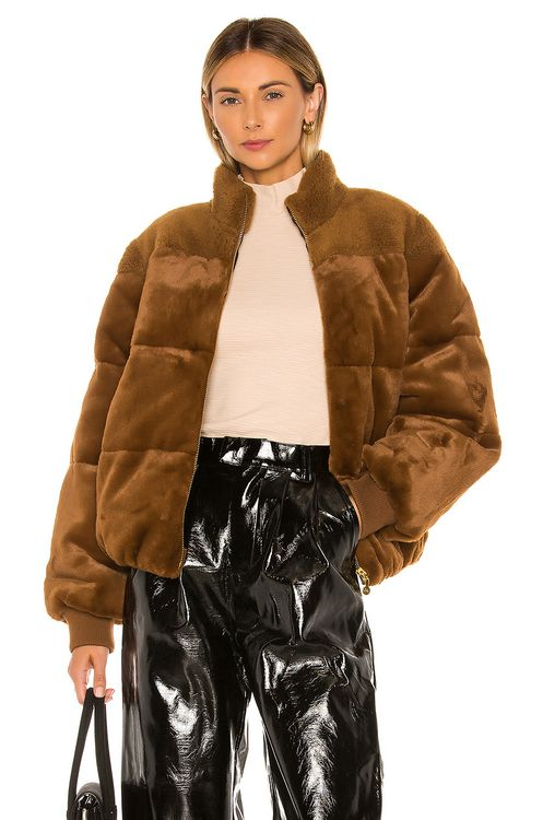 Stine Goya Aria Faux Fur Jacket