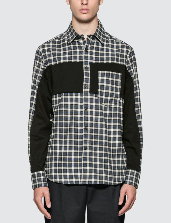 Lanvin Checked Flannel Shirt