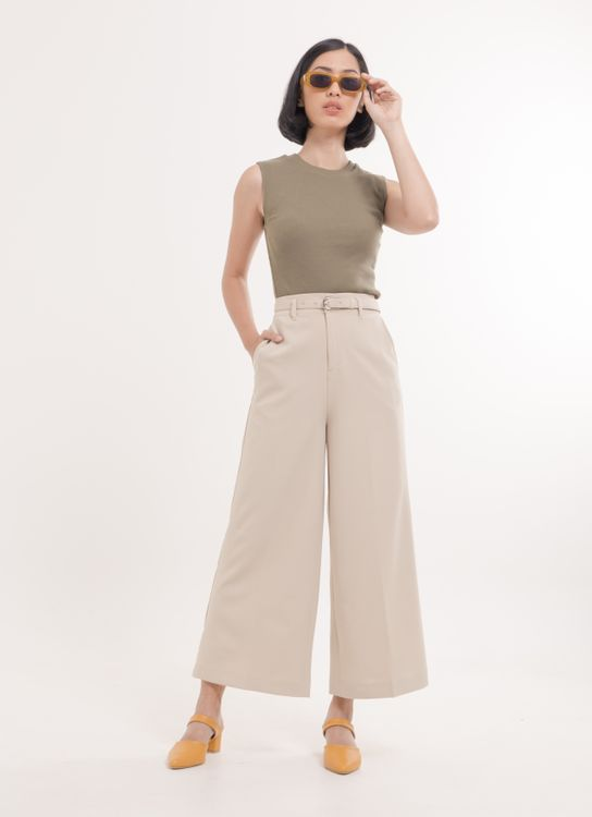 Earth, Music & Ecology Mari Pants - Beige
