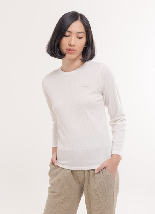 E-hyphen World Gallery Jackie Top - Off White