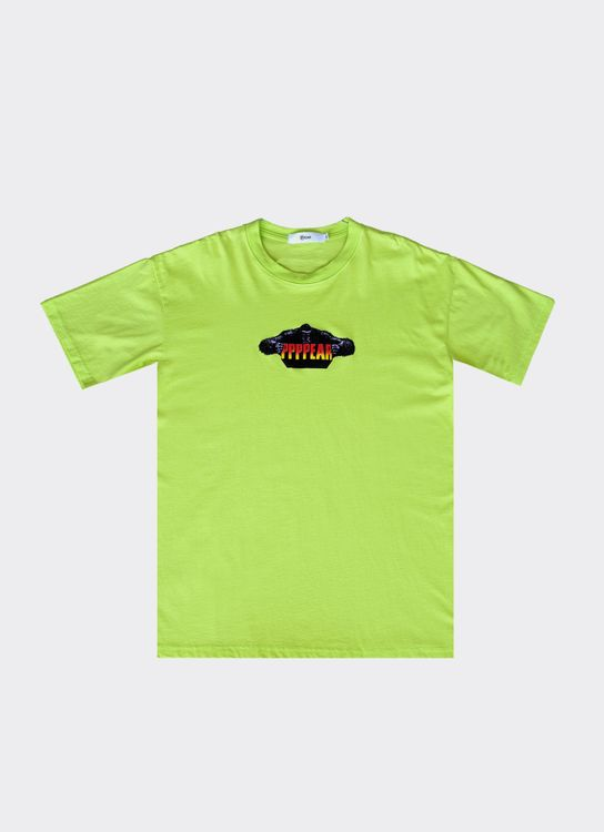 PPPEAR Kingkong T Shirt - Lime Green