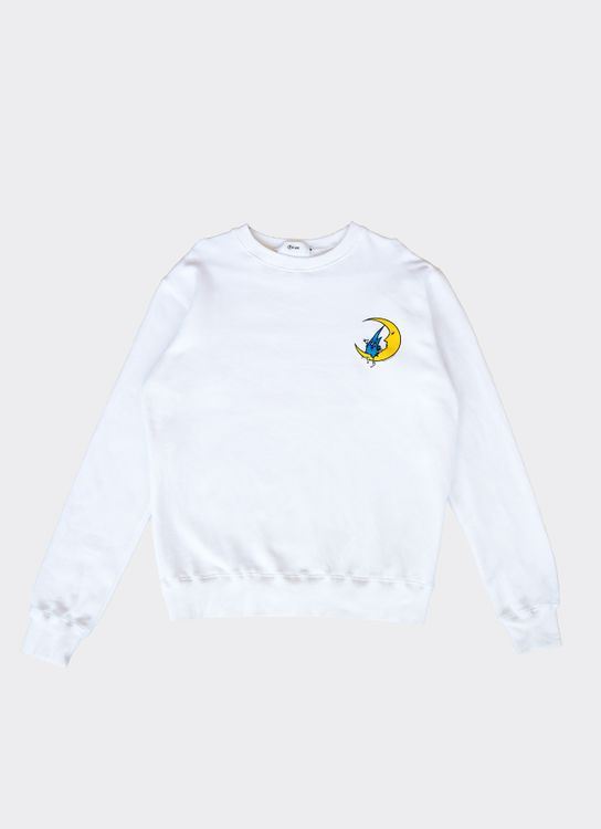 PPPEAR Tears & Rain Crewneck - White