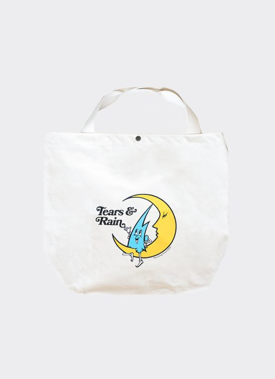 PPPEAR Tears & Rain Totebag - White