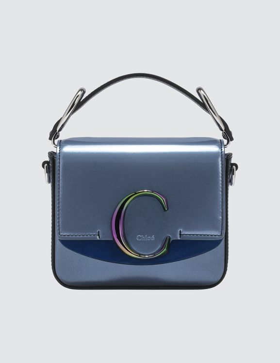 Chloé Patent Leather Small  C Bag