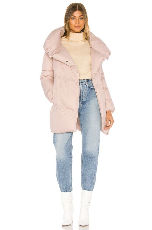 ADD Hooded Short Down Jacket