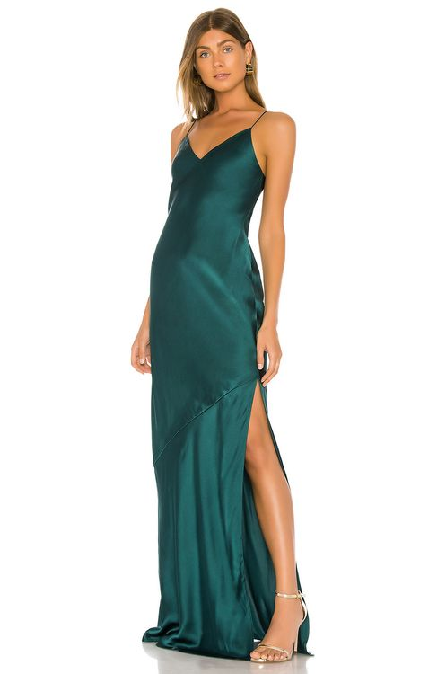CAMI NYC The Raven Gown