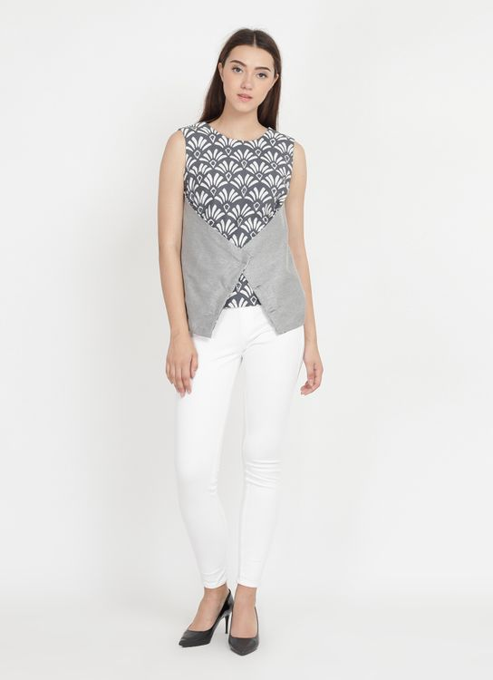 Anynome Solemn Top - Grey