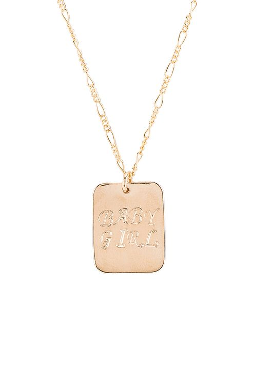 Paradigm Baby Girl Rectangle Necklace
