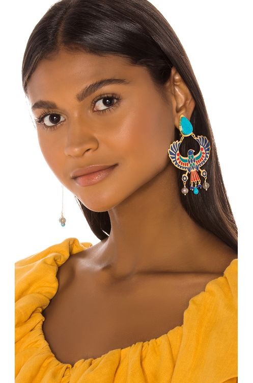 Mercedes Salazar Eagle Earring