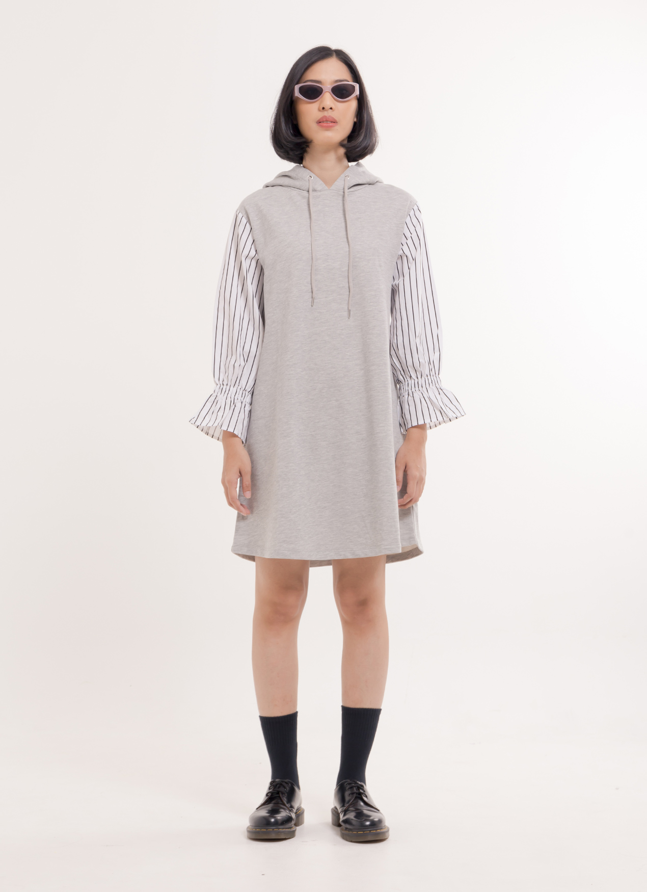 Nicoron Kent Dress - Gray Mixture
