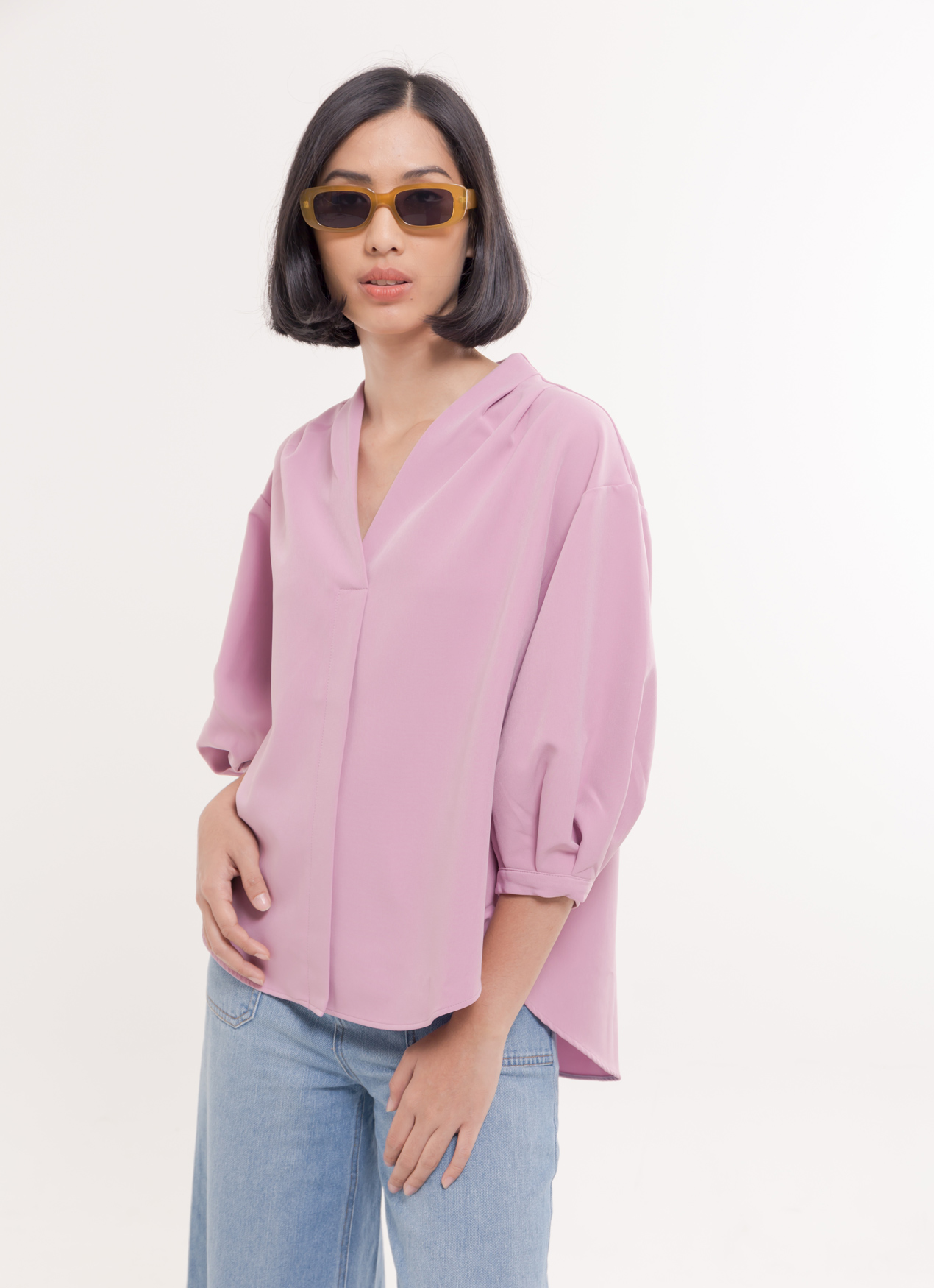 Earth, Music & Ecology Mei Top - Pink
