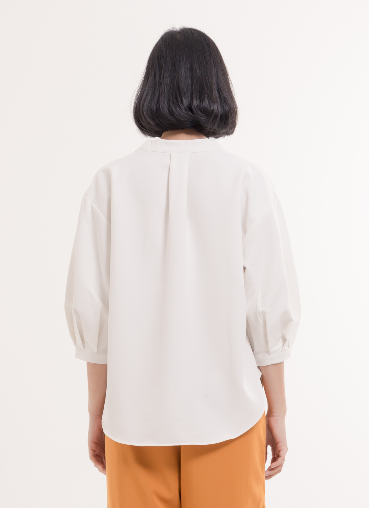 Earth, Music & Ecology Mei Top - Ivory