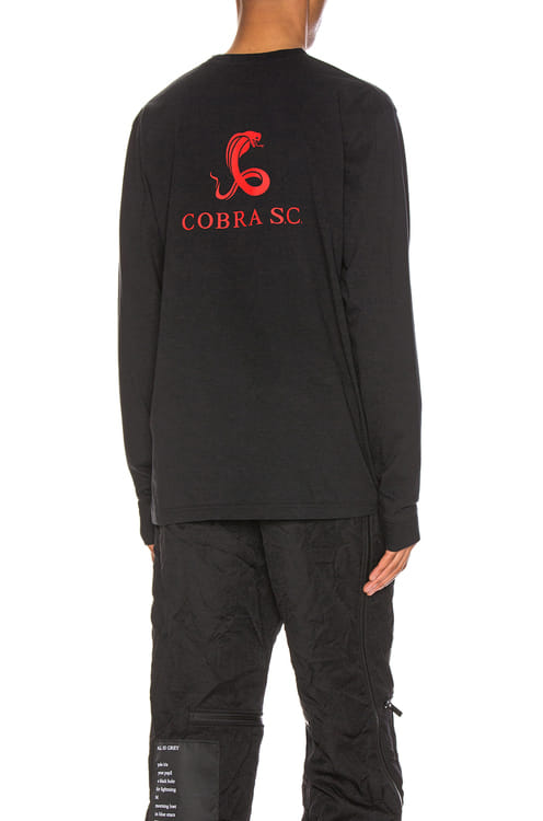 Cobra SC Long Sleeve Logo Tee