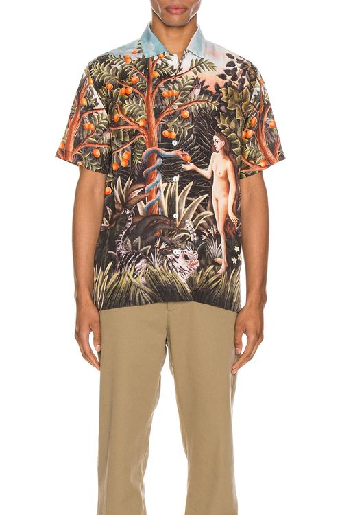 Endless Joy Symptom of Nature Aloha Shirt