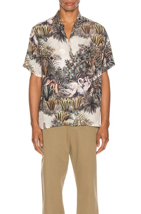 Endless Joy Leda & The Swan Aloha Shirt