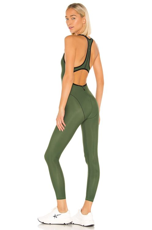 Adam Selman Sport French Cut Catsuit