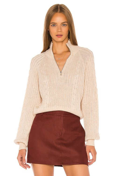 Song of Style Rivka Zip Up Sweater