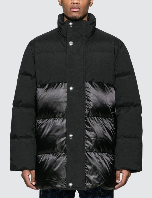Acne Studios Contrast Panel Down Coat