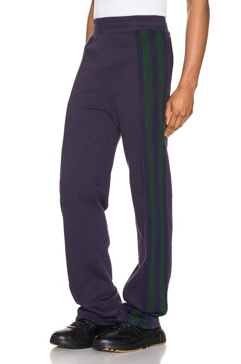 Wales Bonner Palms Stripe Trackpants