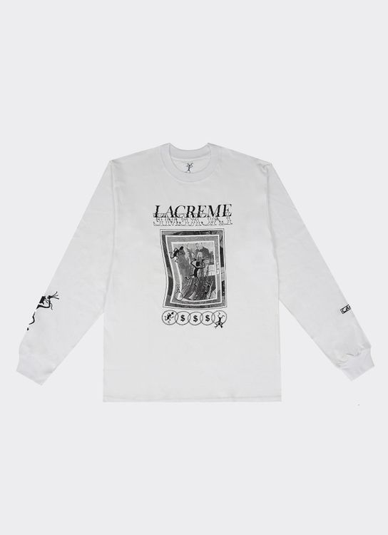 LACREME Unknown Species Long Sleeve - White