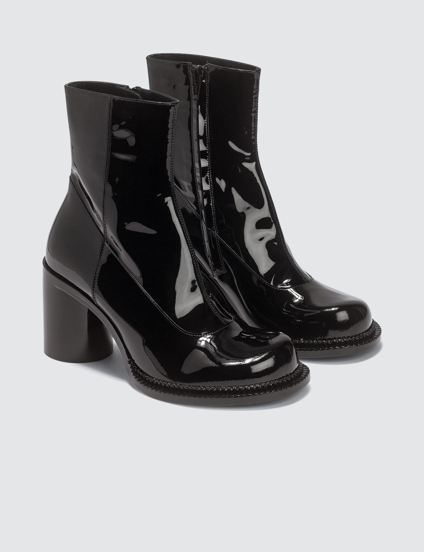 good 2019 discount sale select for newest Ankle Patent Leather Boots, Maison Margiela