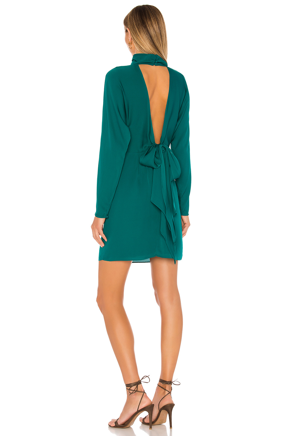 MILLY Celeste Backless Tie Dress