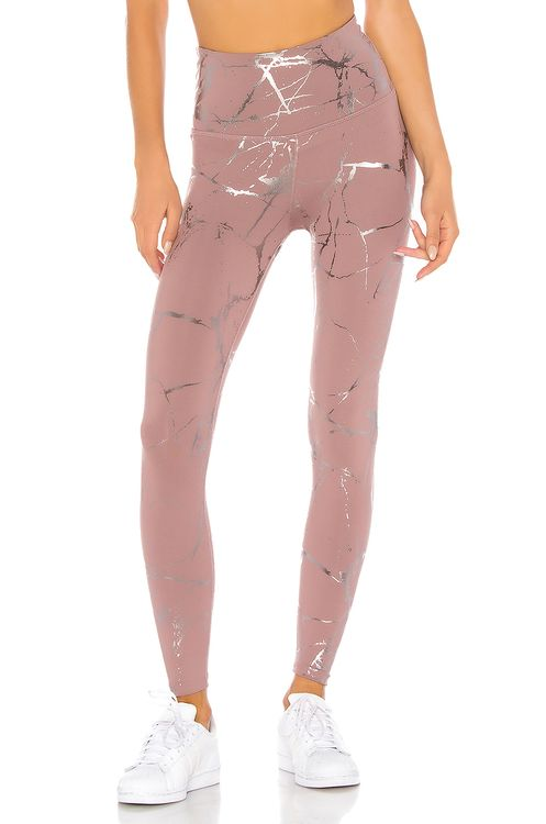 Beyond Yoga Lost Your Marbles High Waisted Midi Legging