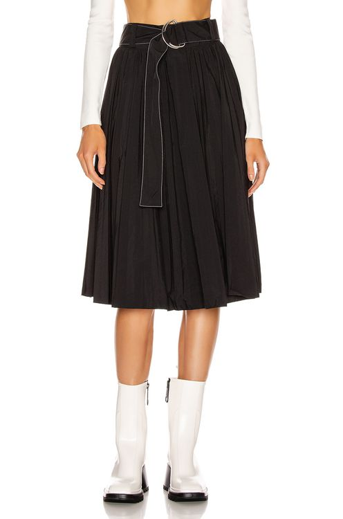 Proenza Schouler PSWL Pleated Belt Skirt