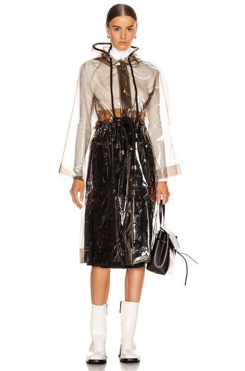 Proenza Schouler PSWL Hooded Raincoat