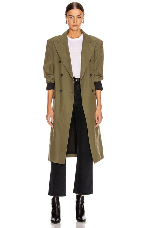 JOHN ELLIOTT Belted Trench Coat