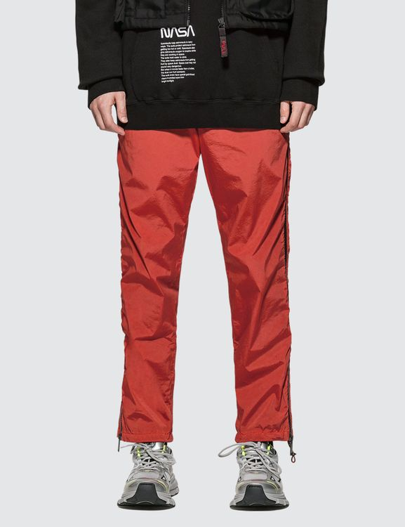 Heron Preston Side Zip Washed Pants